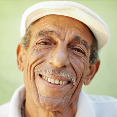 Senior Smiling Man