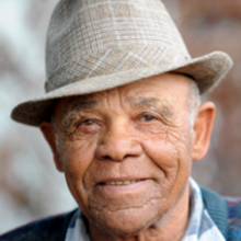 Senior Man Wearing Hat